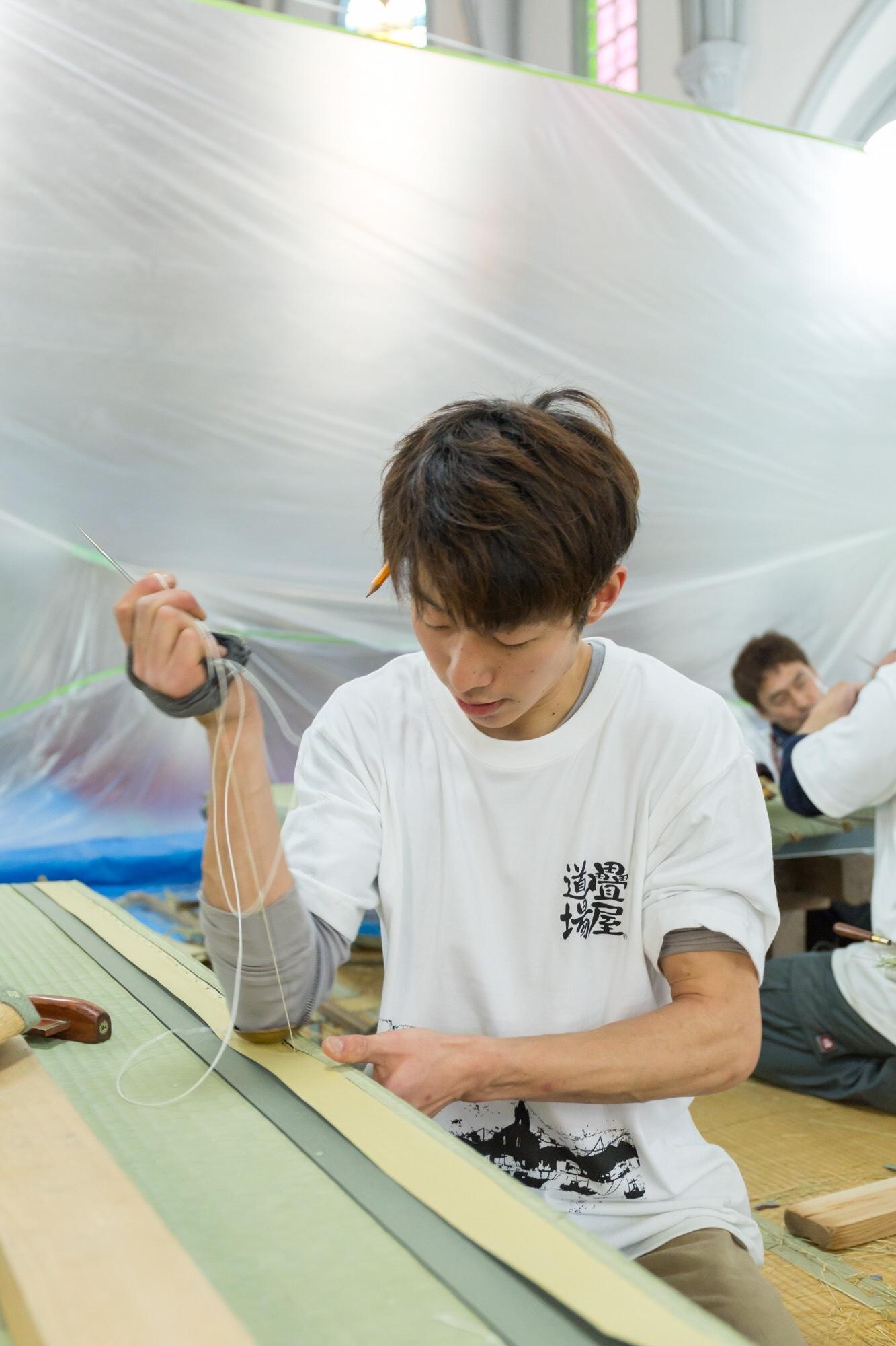 畳製作1級技能士のイメージ